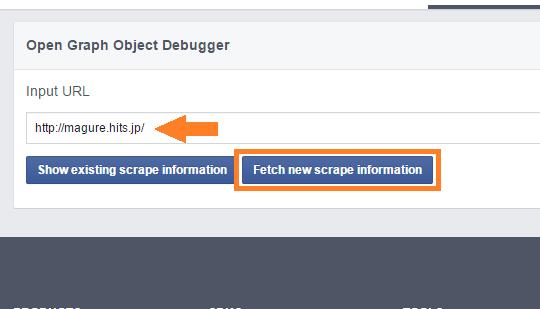 [ facebookでシェア ] サムネイル(アイキャッチ)画像がうまく更新されない時の解決法